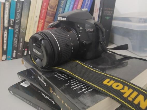 Camera Nikon D5300 + 18-55mm