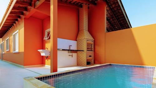 Imagem 1 de 5 de Casas Novas Lado Praia 2 Dormitorios Com Piscina