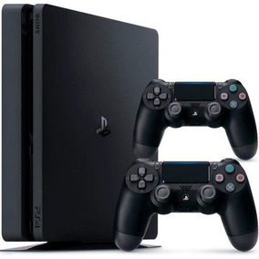 Playstation 4 Slim 500gb Bivolt Ps4+2 Controles Novo Oferta