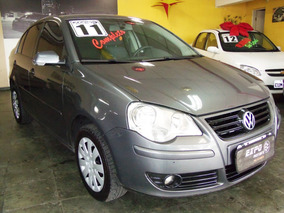 Volkswagen Polo Sedan 1.6 Vht Total Flex 4p 2011 Ipva Pago