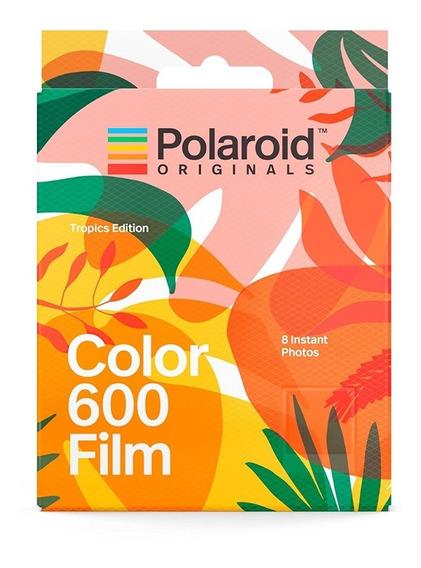 Filme Polaroid Originals 600 Color Tropics Limited Edition