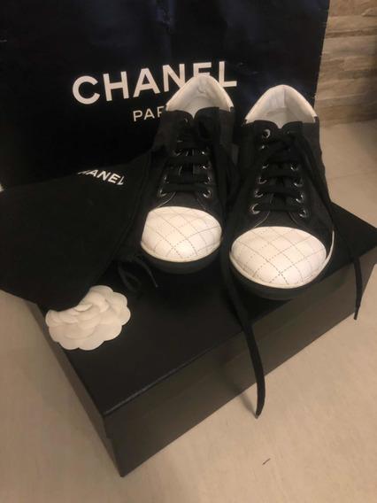 Tênis Chanel Original Usado
