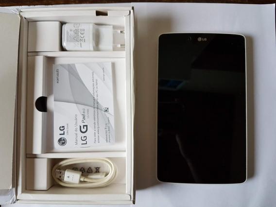 Tablet Lg G Pad V480 - Carcaça - Carregador E Caixa.