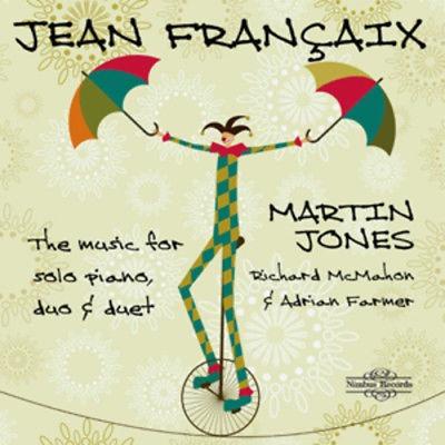 Cd Jean Françaix - The Music For Solo Piano Duo/duet( Novo)