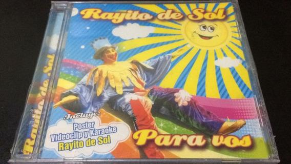 Rayito De Sol Para Vos Videocli Y Karaoke - Cd Nuevo Cerrado