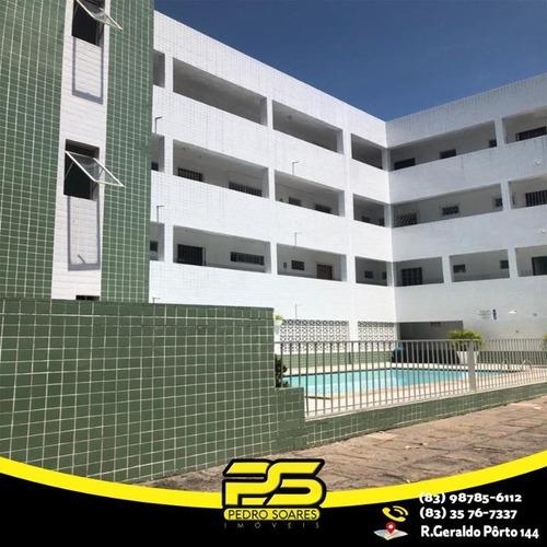 Apartamento Com 2 Dormitórios À Venda, 60 M² Por R$ 170.000 - Poço - Cabedelo/pb - Ap2291