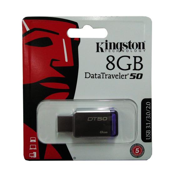 Pendrive Kingston 8gb 8 Gb Datatraveler 50 3.0 Original