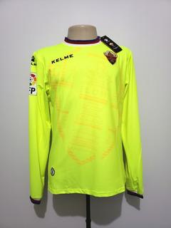 Camisa Oficial Futebol Elche Espanha 2015 Gk Goleiro Kelme G