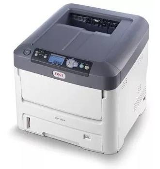 Impressora Okidata Pro 6410 Toner Neon E Branco