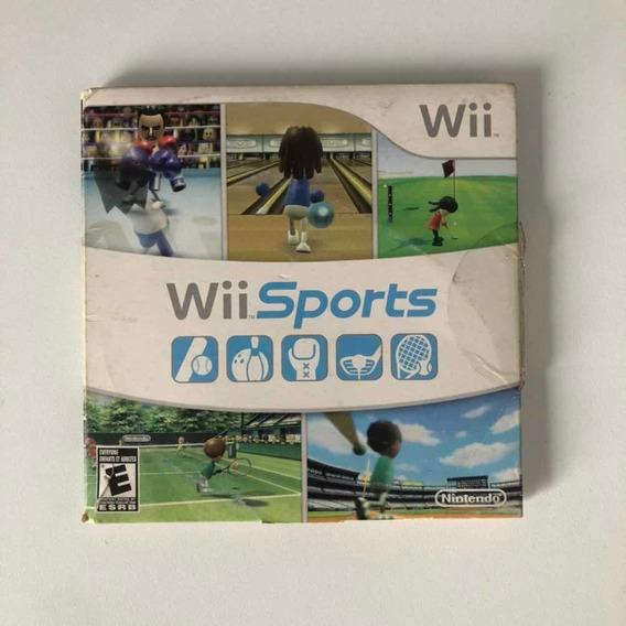 Wii Sports Mídia Física Original Nintendo
