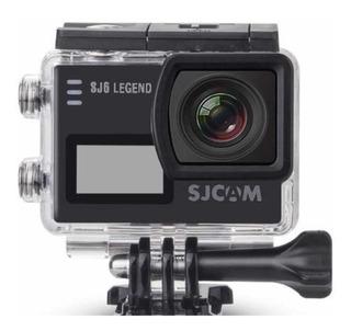 Go Pro Nueva Sjcam Sj6 Legend 4k Negra