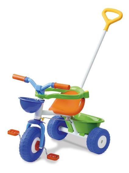 Triciclo Con Aro Protector Y Barral Rondi Metal Nena
