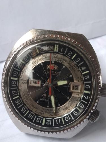 Relógio Orient Wd  Duas Janelas  Década De 70!