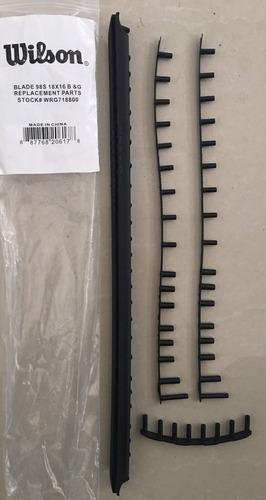 Bumper Grommet P/ Raque Tenis Wilson Blade 98 S 18 X 16 2014