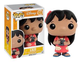 Figura Muñeco Funko Pop Disney Lilo Stitch 124 Original