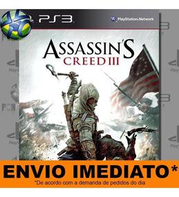 Jogo Assassins Creed Iii 3 Ps3 Digital Psn Envio Imediato