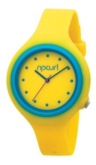 Relogio De Pulso Ripcurl Aurora - Amarelo/azul