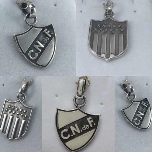 Medallas Peñarol Y Nacional Oficiales En Plata 925