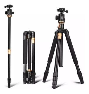 Tripié Profesional Q999h Monopie Para Foto Video 360 Grados