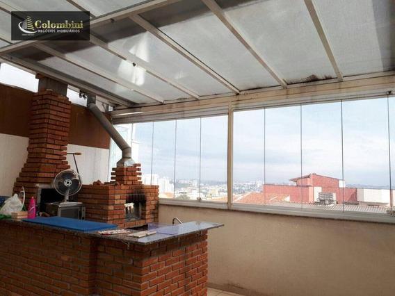 Cobertura Residencial À Venda, Osvaldo Cruz, São Caetano Do Sul. - Co0022