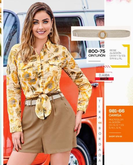 Camisa Multicolor 981-66 Cklass Primavera-verano 2020
