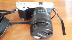 Câmera Profissional Nx300 Samsung