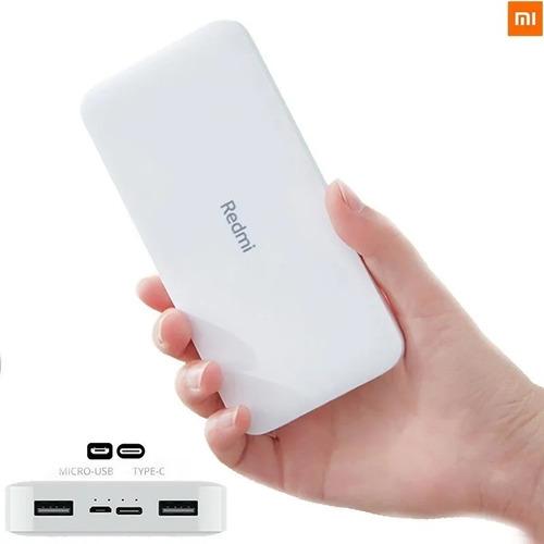 Xiaomi Power Bank Cargador Portatil 20.000 18w Usb-c Redmi