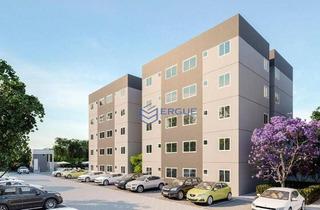 Apartamento Com 2 Dormitórios À Venda, 47 M² Por R$ 130.990 - Centro - Caucaia/ce - Ap0579