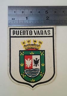 Escudo Insignia Ciudad De Puerto Varas Material Tevinil