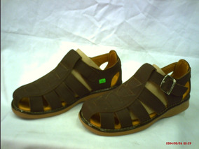 Calzado Sandalias De Cuero Para Hombre Somos Fabricantes