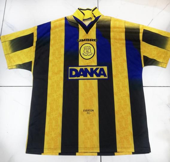 Camiseta Remera Everton Inglaterra Umbro Temporada 96/97