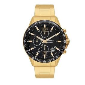 Relógio Masculino Orient Chronograph Mgssc013 P2kx Dourado