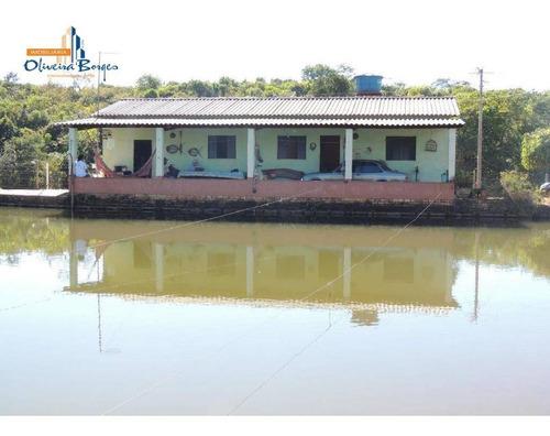 Chácara Com 2 Dormitórios À Venda, 41000 M² Por R$ 600.000,00 - Zona Rural - Corumbá De Goiás/go - Ch0074