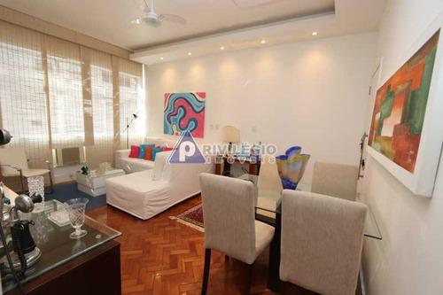 Imagem 1 de 26 de Apartamento À Venda, 2 Quartos, 1 Suíte, 1 Vaga, Copacabana - Rio De Janeiro/rj - 6380