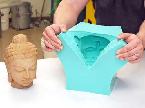 Caucho Silicona Moldes Liquido Mold 15 X 225g Estatuas
