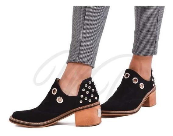 Zapatos Bajos Super Comodos Cuero