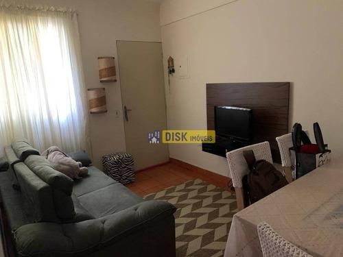 Apartamento Com 2 Dormitórios À Venda, 56 M² Por R$ 210.000 - Bairro Dos Casa - São Bernardo Do Campo/sp - Ap2225
