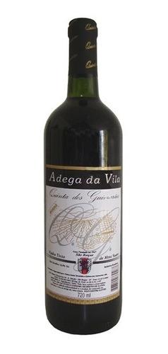 Imagem 1 de 1 de Vinho Tinto Suave Bordô 720ml - Adega Da Vila