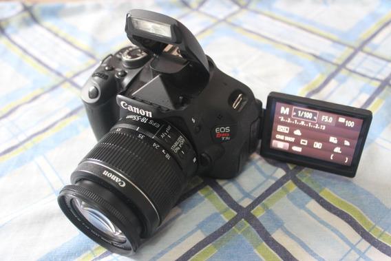 Canon T3i + Lente 18-55mm + Frete Gratis