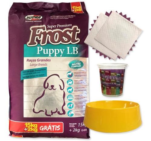 Imagen 1 de 3 de Alimento Frost Cachorro Lb 17 Kgs + Regalos Y Envío Gratis*