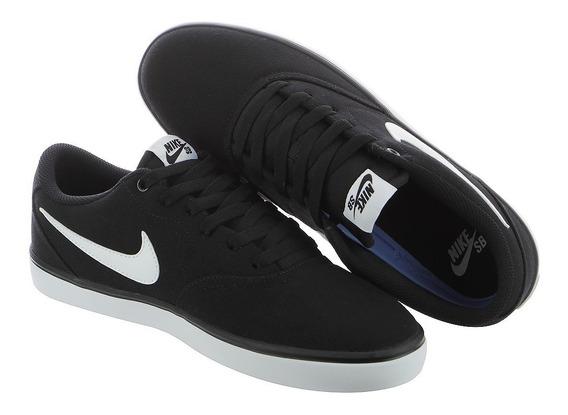 Zapatillas Nike Sb Check Solarsoft Canvas Nuevas Para Hombre