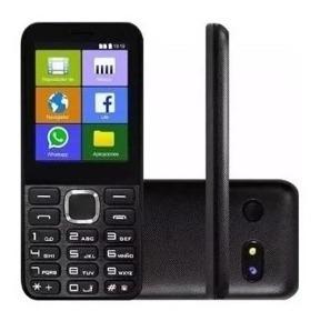 Celular Simples Ipro Smart 2.4 3g Wi-fi Whatsapp Facebook Fm