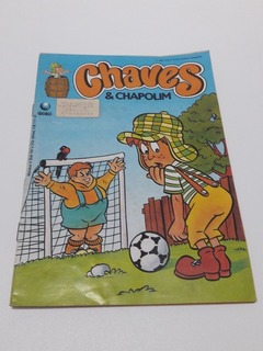 Gibi Chaves & Chapolim Nº 9 - Editora Globo 1991 Edit Globo