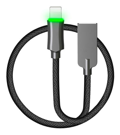 Binden Cable Cargador Lighting Carga Rápida, Auto Desconexión, Transferencia De Datos, Qualcomm 3.0 Para iPhone