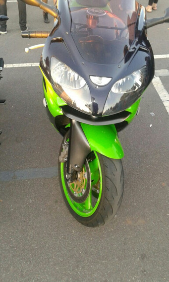 Kawasaki Zx9r Menos Rodada Do Brasil