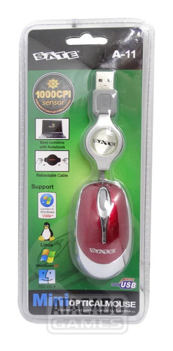 Mini Mouse Sate Poratil Mouse Para Pc  Para Notebook Barato