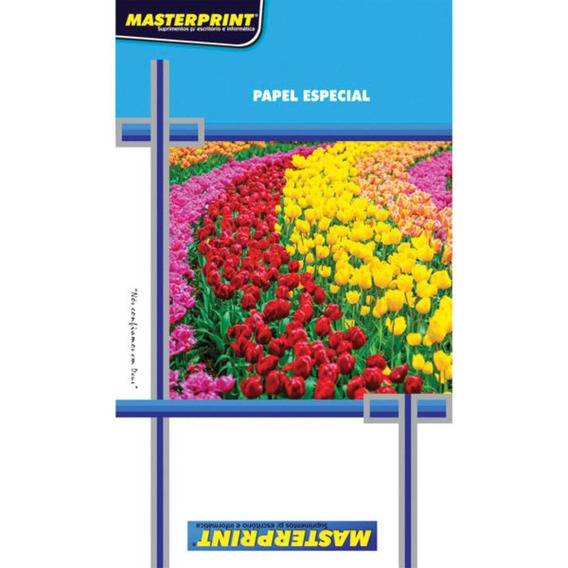 Papel Fotografico A4 Matte Fosco 170g Masterprint Pct.c/100
