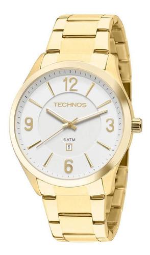 Relógio Technos Classic Steel Feminino Dourado 2015byytd/4b