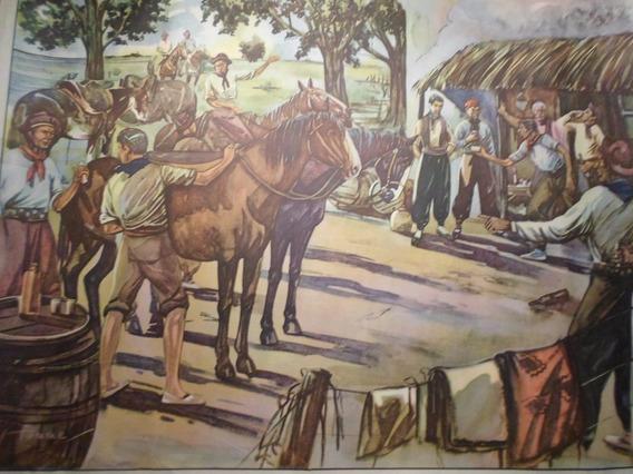 Poster Antiguo Caja Nacional De Ahorro Postal Nº 10