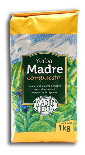 Yerba Madre Compuesta 1 Kg - Yerba Mate Madre Tierra